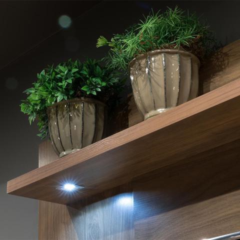 Imagem de Conjunto Painel Fortaleza com Luminaria de LED e Rack Recife