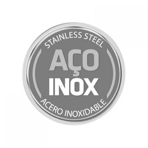 Imagem de Conjunto para Servir Inox com Tampa de Vidro 2 Peças Cosmos Tramontina