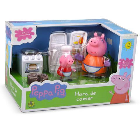 Imagem de Conjunto - Peppa Pig - Hora de Comer - Cozinha