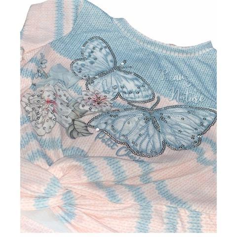 Imagem de Conjunto Petit Cherie Rose Garden Short Jeans Inverno