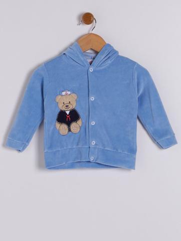 Imagem de Conjunto Plush Infantil Para Bebê Menino - Azul