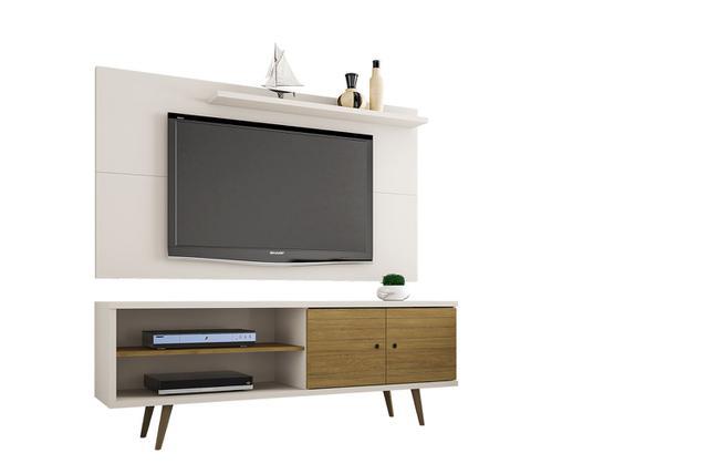 Imagem de Conjunto Rack Onix Com Painel Para TV Sala Chanel