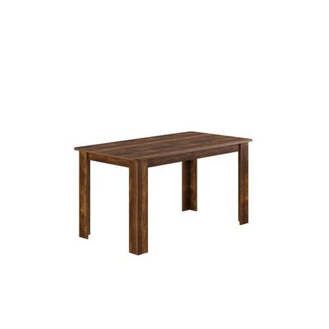edcde78a5 Imagem de Conjunto Sala de Jantar Mesa 6 Cadeiras Nicoli Siena Móveis  Rústico Preto