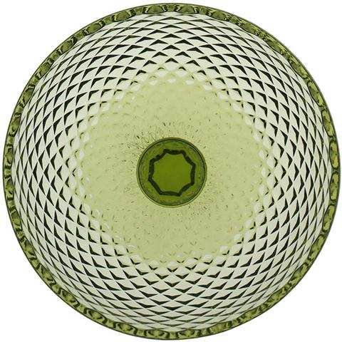 Imagem de Conjunto Taças Sobremesa Sorvete 150ml Vidro Bico De Jaca Verde