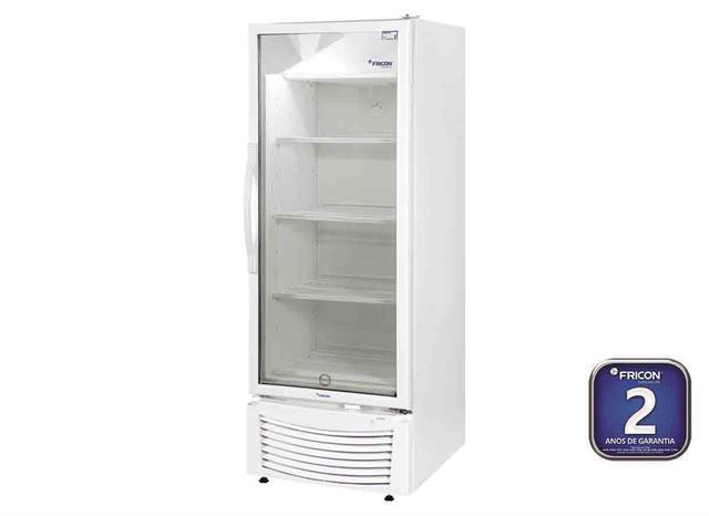 Imagem de Conservador/Refrigerador Vertical 1 Porta Vidro 402 L 220 V - VCFM 402 PVR - Fricon - 0FN 025