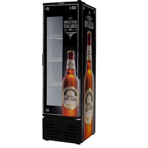 Geladeira/refrigerador 284 Litros 1 Portas Preto - Fricon - 220v - Vcfm-284v