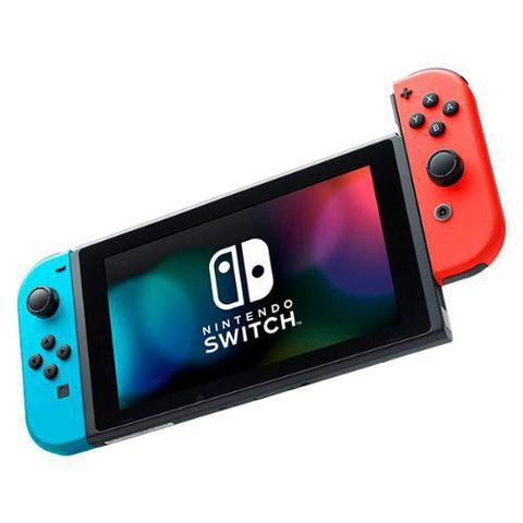 Imagem de Console Nintendo Switch 32GB Com 1 Controle Joy-Con Vermelho e Azul HAC-001-01  NINTENDO