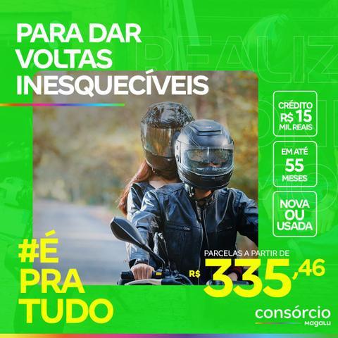 Imagem de Consórcio de Moto 15 Mil