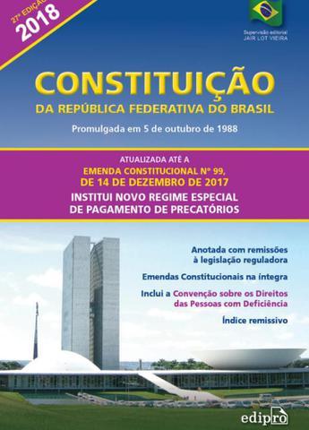 Imagem de Constituição da república federativa do brasil