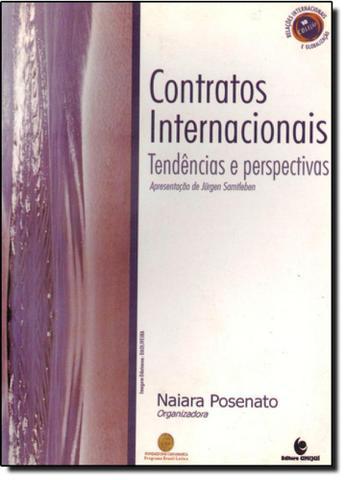 Imagem de Contratos internacionais: tendencias e perspectivas