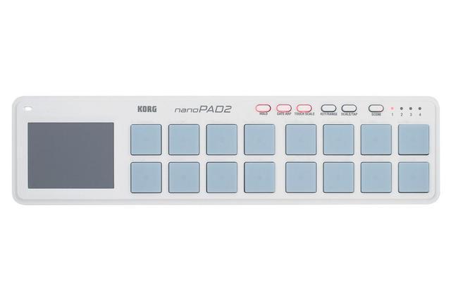 Imagem de Controlador korg usb-midi - mod. nanopad2-wh