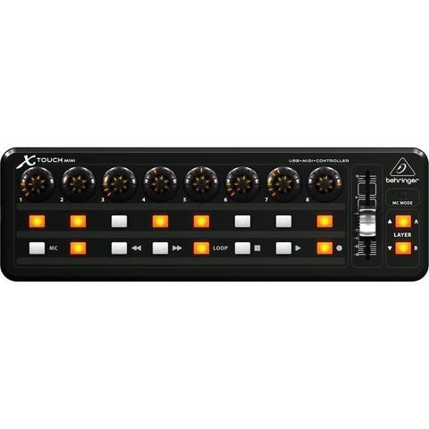 Imagem de Controlador MIDI/USB X-TOUCH MINI - Behringer