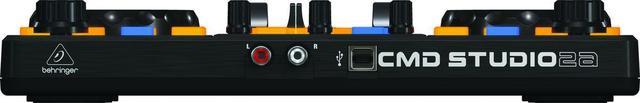 Imagem de Controlador Para Studio DJ Behringer CMD STUDIO 2A USB