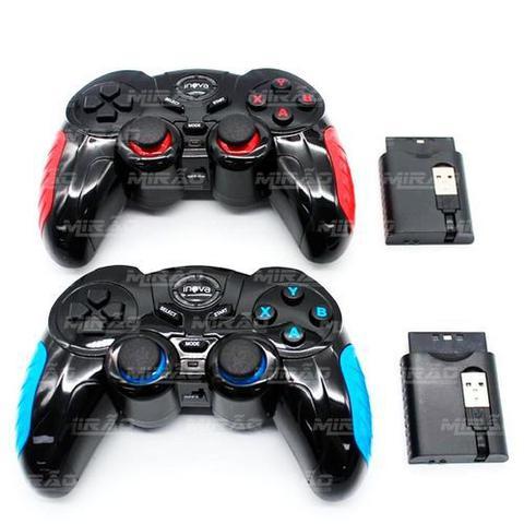 Imagem de Controle 7 em 1 sem fio Play2, Play3, PC, Android
