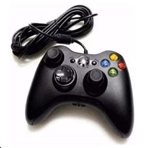 Imagem de Controle Com Fio Xbox 360 E Pc Slim Joystick - Gamer Pro