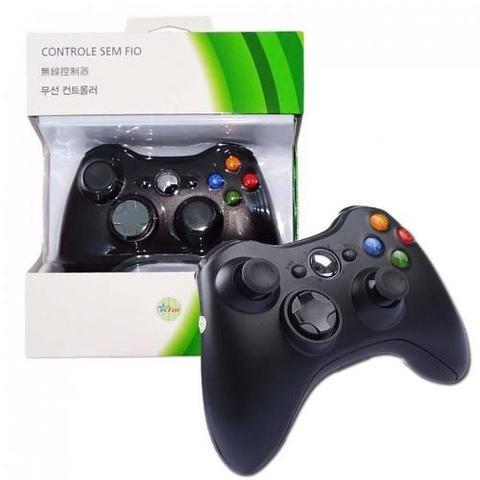 Imagem de Controle Com Fio Xbox 360 Pc Computador 2 metros Cabo USB X-box Notebook