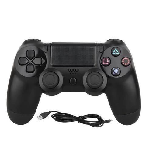 Imagem de Controle Compatível com Ps4 Dualshock Wireless Play 4 Sem Fio Preto