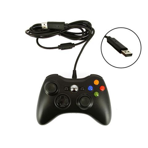 Imagem de Controle De Vídeo Game Estilo Xbox 360 Com Fio - CON-8147 - Inova
