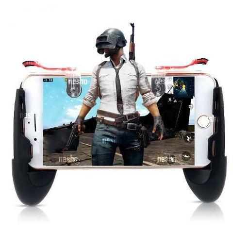 Imagem de Controle Gamepad Jogos Celular Android + Gatilho