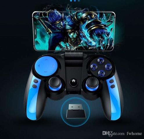 Imagem de Controle iPega PG9090 Bluetooth Gamepad Controlador De Jogo PUBG - Azul