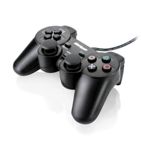 Imagem de Controle Joystick Dual Shock Pc - Multilaser -  Js030