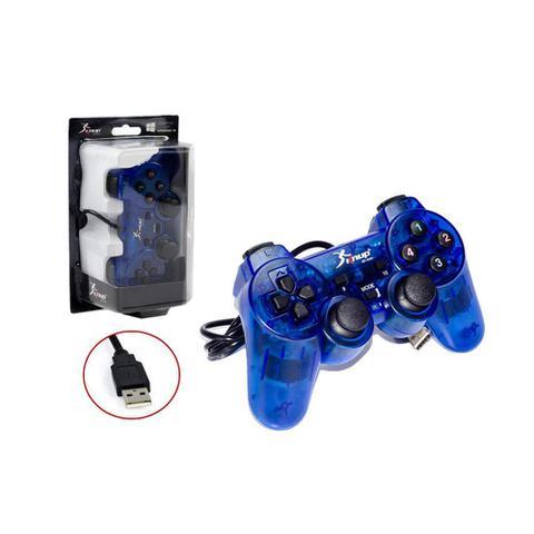 Imagem de Controle Joystick para PC e Notebook USB Knup kp-3121 Azul
