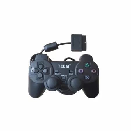 Imagem de Controle Joystick Play Ps1 E Ps2 C/ Vibração Teem