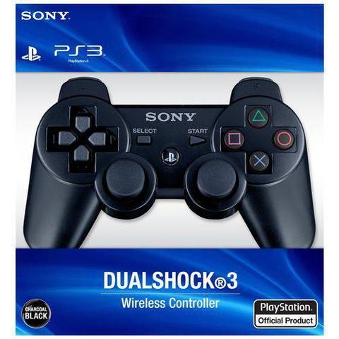 Imagem de Controle manete Ps3 play 3 Dualshock 3 Original Sem fio wireless + cabo usb