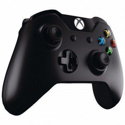Imagem de Controle / Microsoft / Xbox One / Sem Fio - Preto