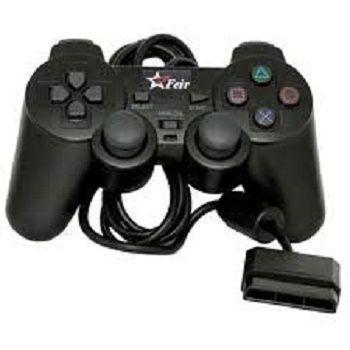 Imagem de Controle para PS2 Botoes Macios e Precisos Preto Feir Feir
