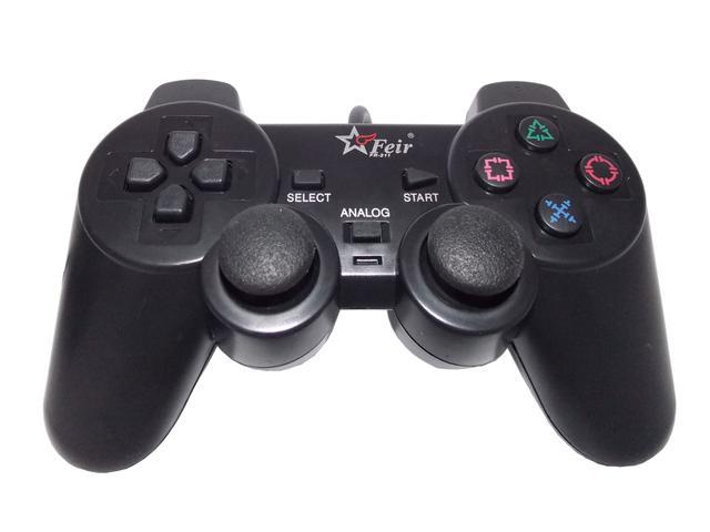 Imagem de Controle Para PS2 Playstation 2 Joystick Dualshock Analógico Com Fio - Feir FR-211