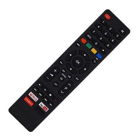 Imagem de Controle para Smart TV Led Qled Philco Britania 4k Netflix Youtube