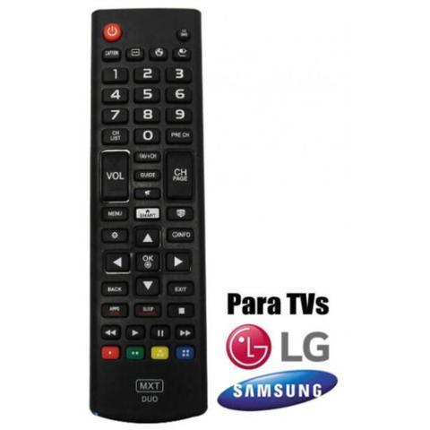 Imagem de Controle Para SMART TV LG/SAMSUNG Com Funcao 3D e FUTEBOL 1318 MXT
