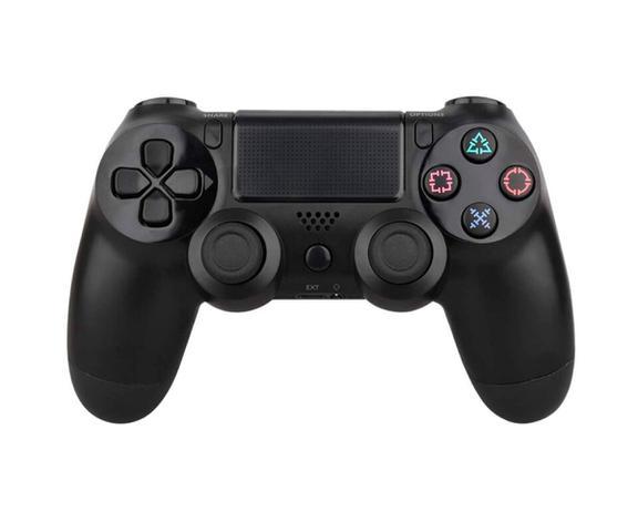 Imagem de Controle Para Vídeo Game Compatível PS 4 Com Fio Preto DOUBLESHOCK