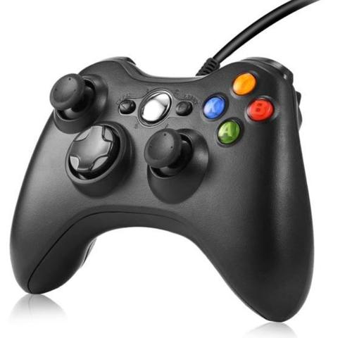 Imagem de Controle para Xbox 360 Com Fio Joystick Slim
