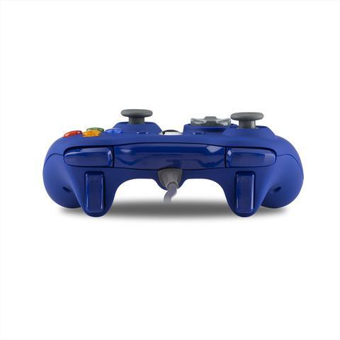 Imagem de Controle Para Xbox 360 Dazz 624503 Rubber Pad Com Fio USB Azul
