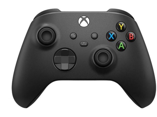 Imagem de Controle Para Xbox One Series S Series X Preto Carbon Black