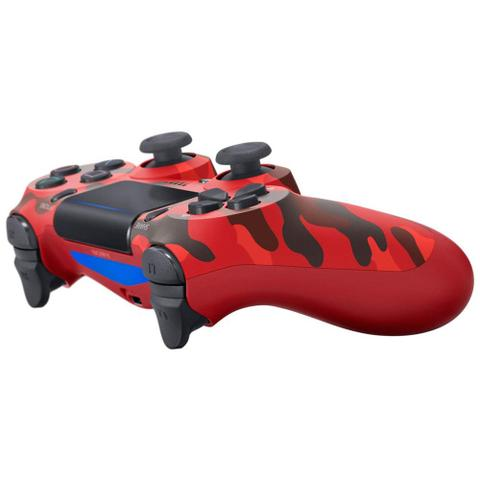 Imagem de Controle Playstation Dualshock 4 Vermelho Camuflado - PS4