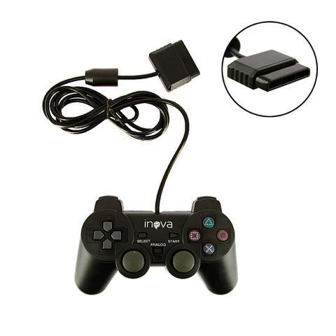 Imagem de Controle PS2 Com Direção Analógica CON-147B - Inova