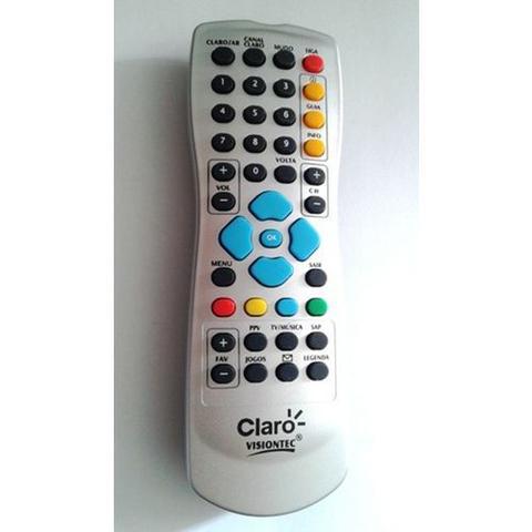 Imagem de Controle Remoto Claro Tv Visiontec Original Único
