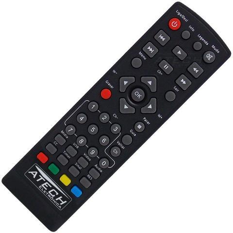 Imagem de Controle Remoto Conversor Digital Intelbras CD 636