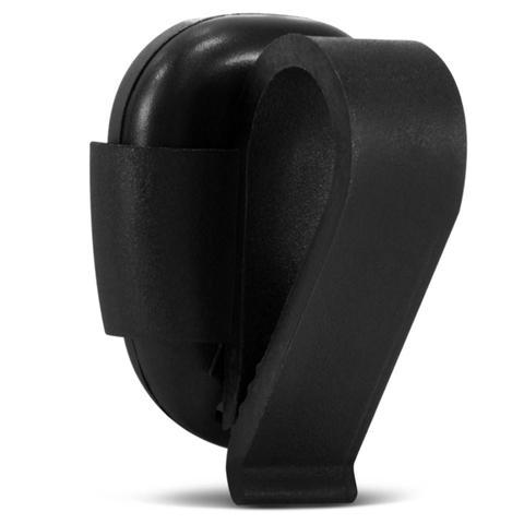 Imagem de Controle Remoto ECP Fit Para Alarme Automotivo e Portão Eletrônico em Plástico UV Resistente Preto