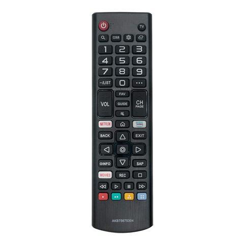 Imagem de Controle Remoto LG AKB75675304 Netflix/Prime Vídeo Para TV 49UJ6565 Original