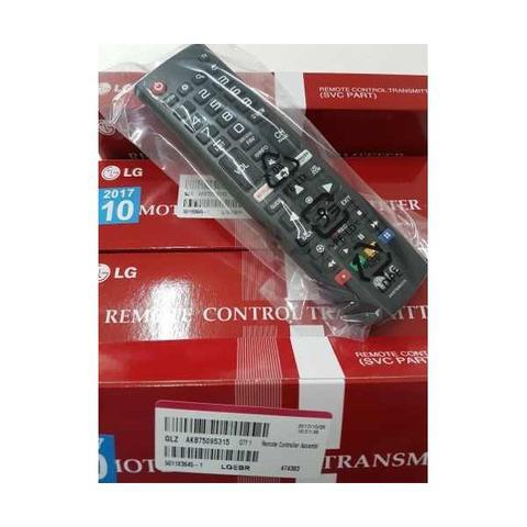 Imagem de Controle Remoto LG com botão NETFLIX akb75095315