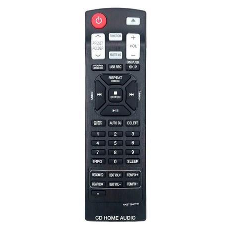 Imagem de Controle Remoto LG Mini System Hi Fi Cm6520 Original, Pilhas