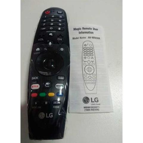 Imagem de Controle remoto MAGIC LG TV 49UJ6565 AN-MR650A original