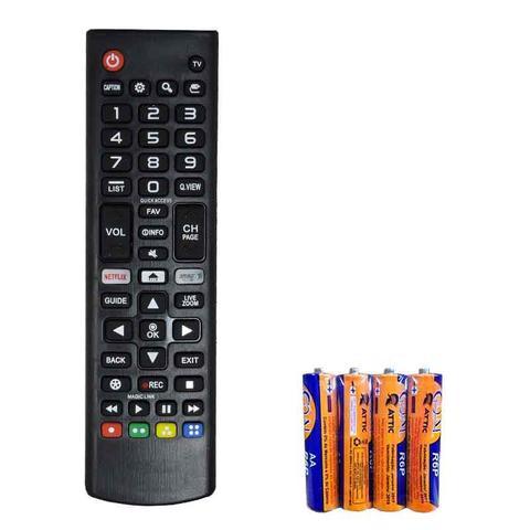 Imagem de Controle Remoto para Tv Led Lg Smart AKB75095315