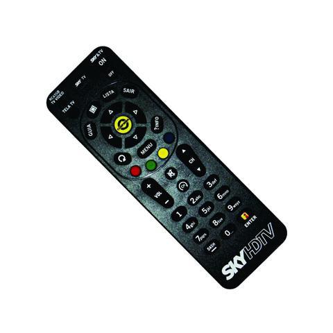 Imagem de Controle Remoto Receptor SKY HDTV Zapper RC65SB Original