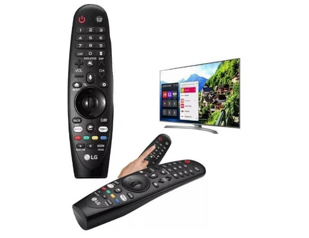 Imagem de Controle remoto Smart TV 4K LED 50 LG 50UK6520 AN-MR18BA