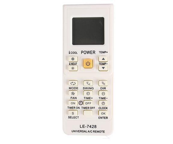 Imagem de Controle Remoto Universal Ar Condicionado Le-7428